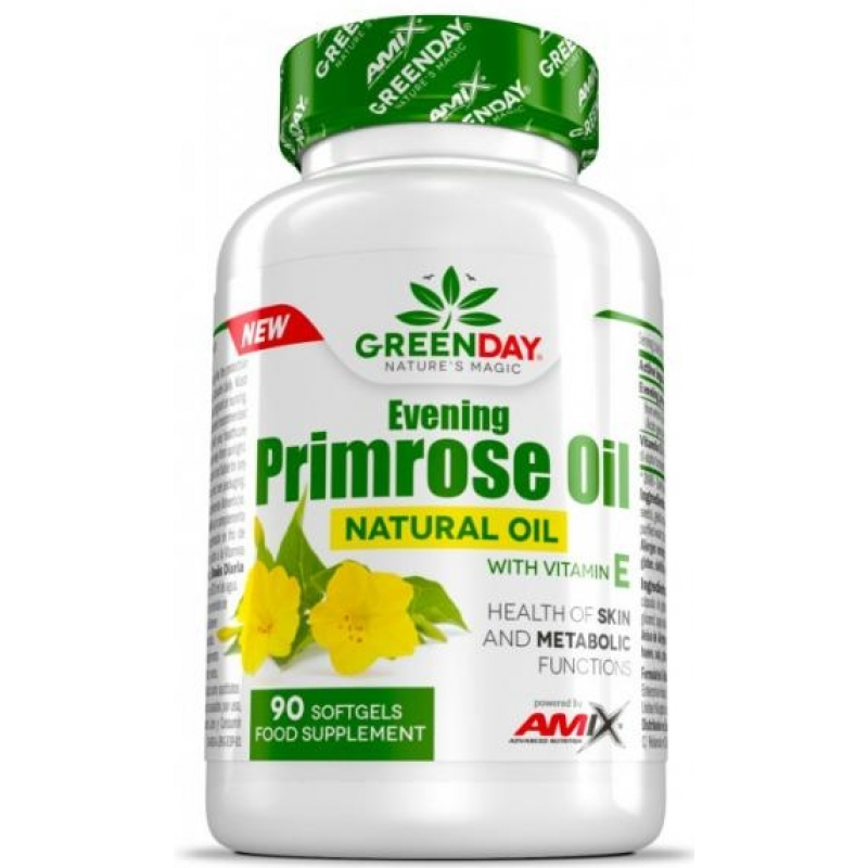 Amix Nutrition GreenDay® Kuningakepiõli + Vitamiin E 90 kapslit