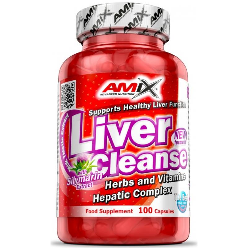 Amix Nutrition Liver Cleanse 100 kapslit