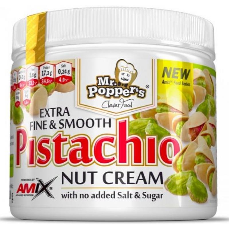 Amix Nutrition Mr.Popper ́s Nut Pistachio Smooth Cream (pähkli pistaatsiapähkli kreem) 300 g