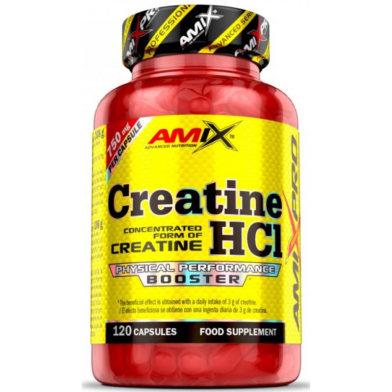 Amix Nutrition AmixPro® Kreatiin HCl 120 kapslit