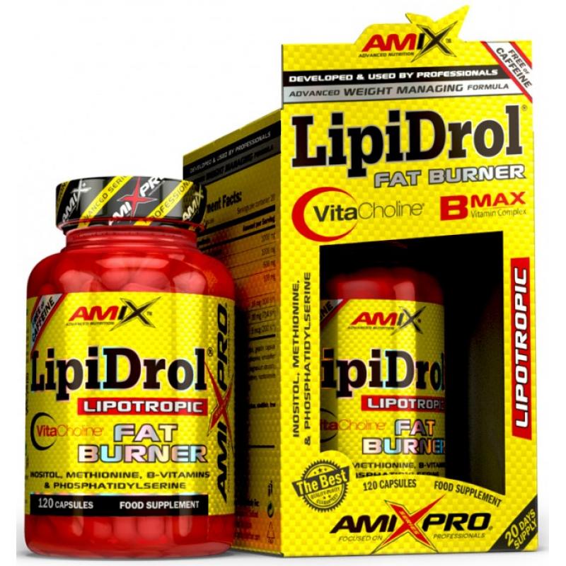 Amix Nutrition AmixPro®Lipidrol® Fat Burner Plus 120 kapslit