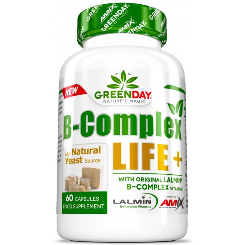 Amix Nutrition GreenDay® B-Complex LIFE - NATURAL + 60 kapslit