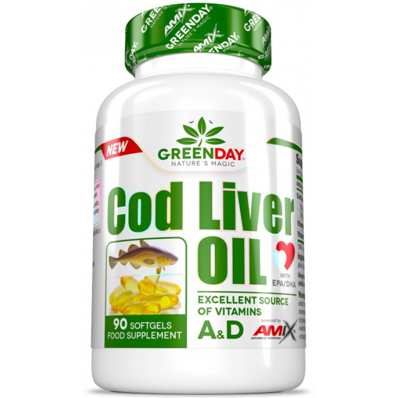 Amix Nutrition GreenDay® Tursamaksaõli - 90 geelkapslit