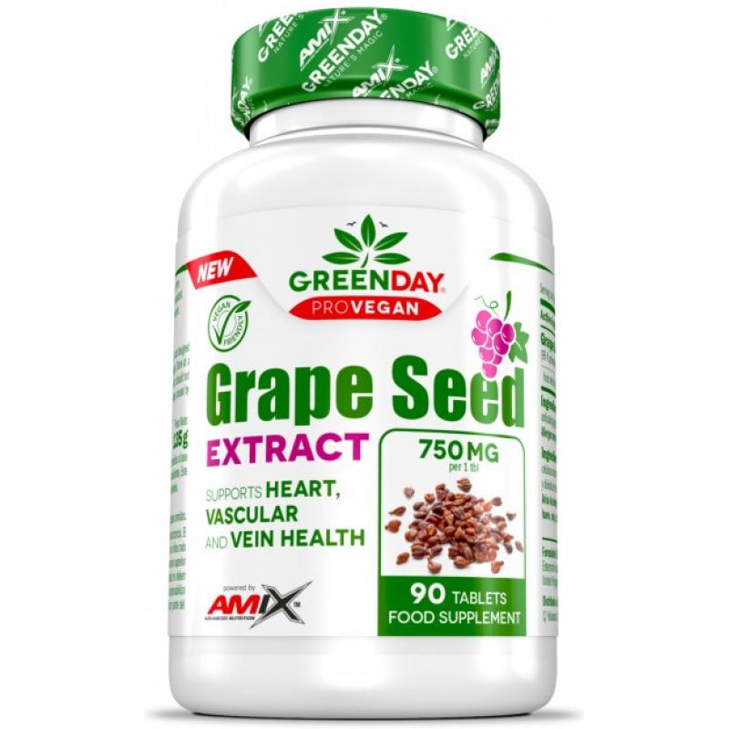 Amix Nutrition GreenDay® ProVEGAN viinamarjaseemneekstrakt 90 tabletti