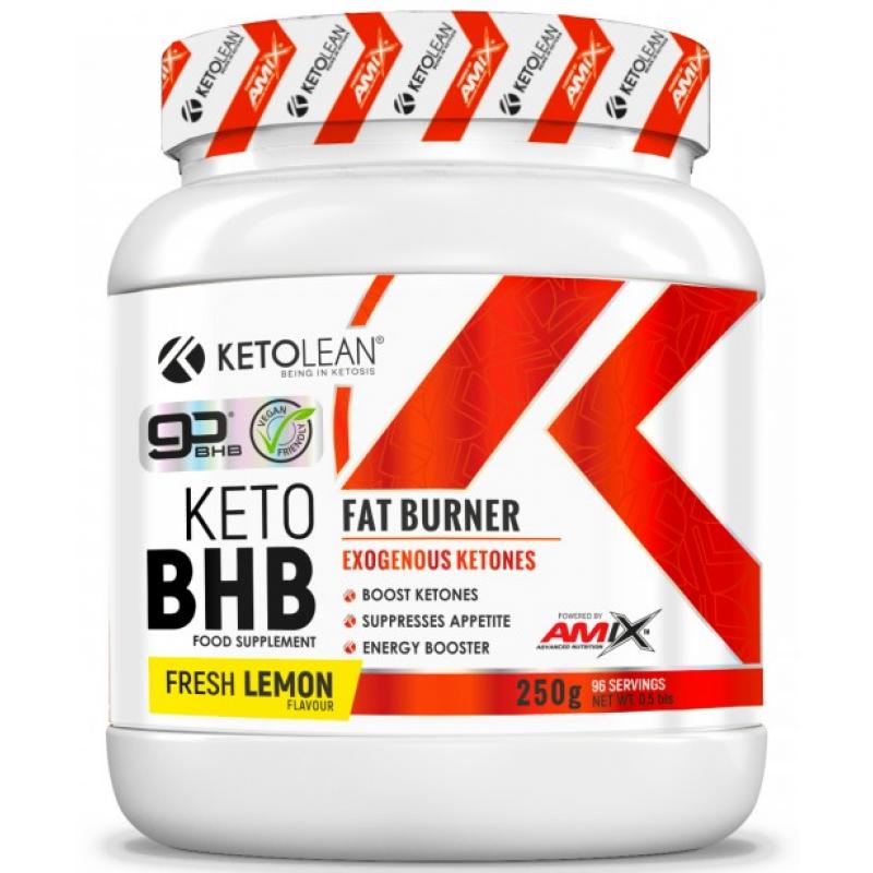 Amix Nutrition KetoLean® Keto goBHB® 250 g - värske sidrun