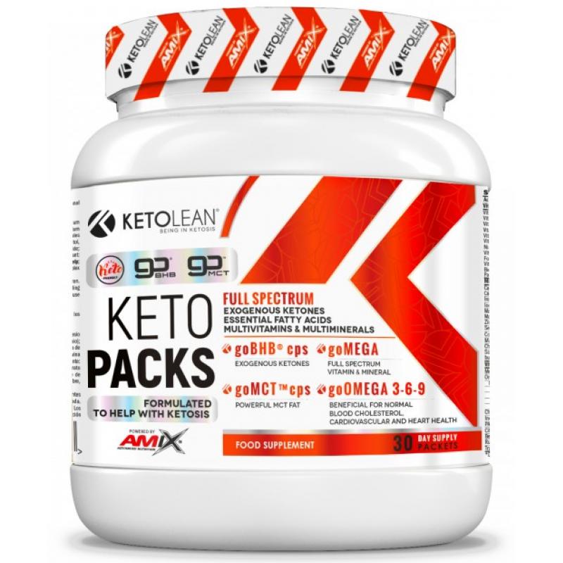 Amix Nutrition KetoLean® Keto goBHB® KetoPack 30 kotikest