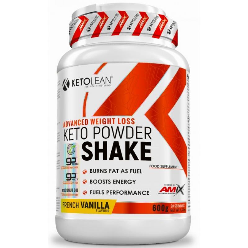 Amix Nutrition KetoLean® Keto goBHB® pulberšeik 600 g - Prantsuse vanilje