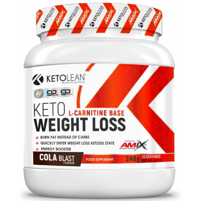 Amix Nutrition KetoLean® Keto goBHB® Weight Loss 240 g - cola blast