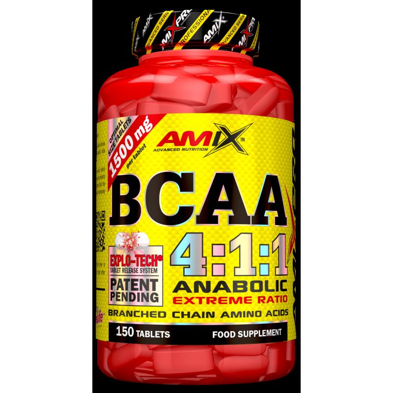 Amix Nutrition AmixPro® BCAA 4: 1: 1 150 tabletti