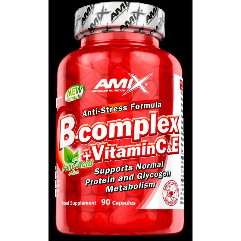 Amix Nutrition B-Complex + vit.C vit.E 90 tabletti