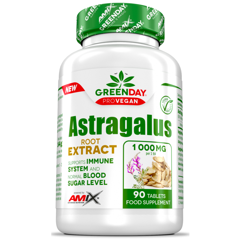 Amix Nutrition Greenday® ProVegan Astragalus Extract 90 tablette