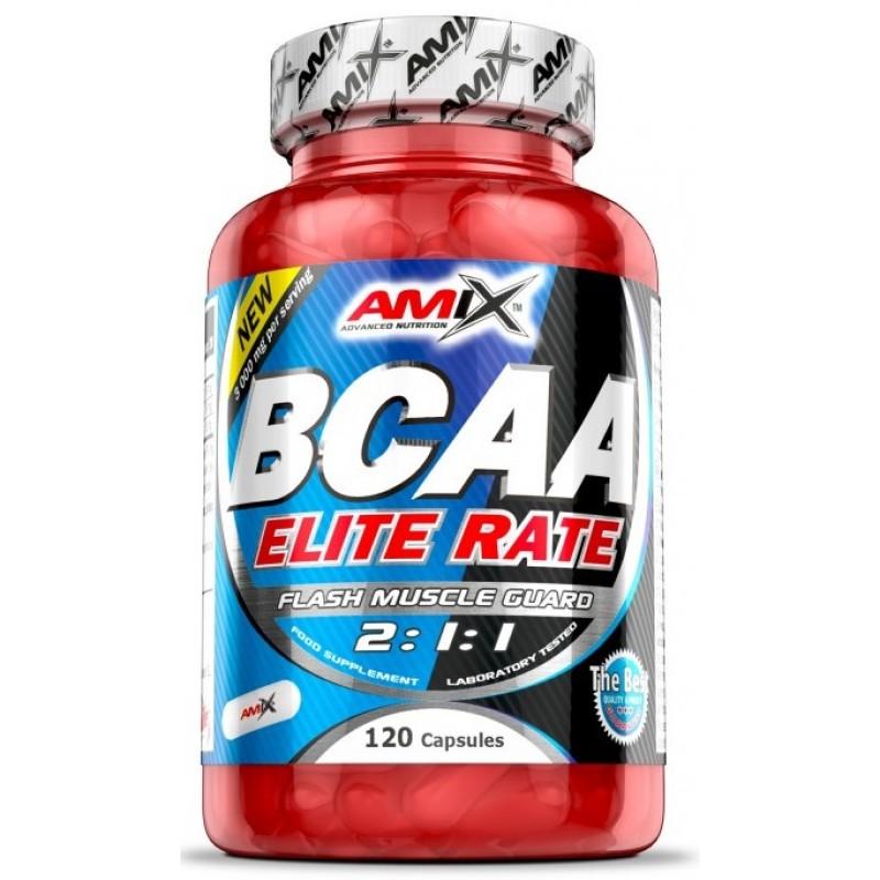 Amix Nutrition BCAA Elite Rate 120 kapslit