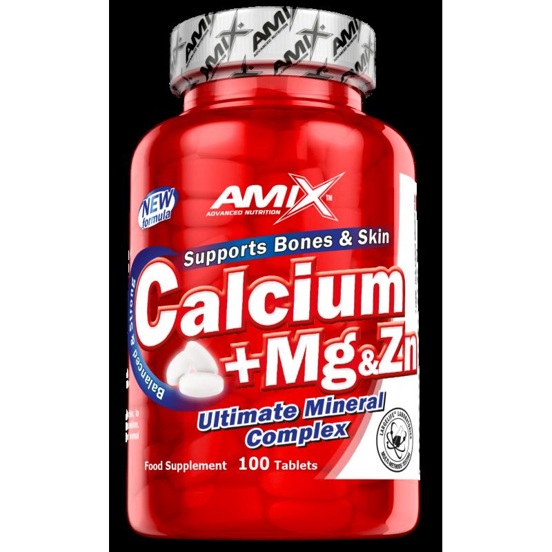 Amix Nutrition Ca + Mg + Zn 100 tabletti