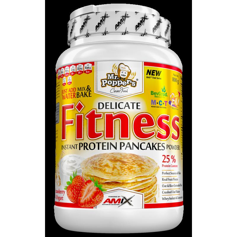 Amix Nutrition Mr.Popper's - Fitness Protein Pannkoogid 800 g foto