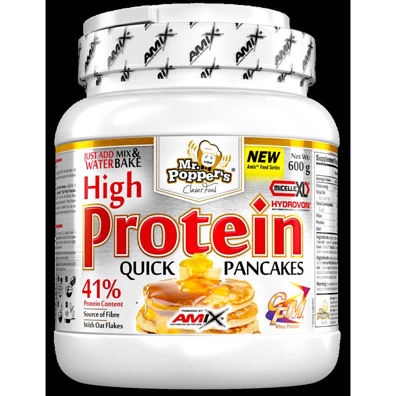 Amix Nutrition Mr.Popper's - kõrge valgusisaldusega pannkoogid 600 g