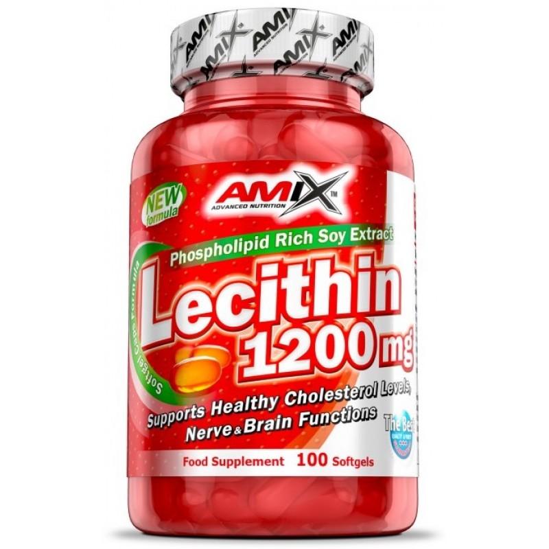 Amix Nutrition Letsitiin 1200 mg 100 geelkapslit