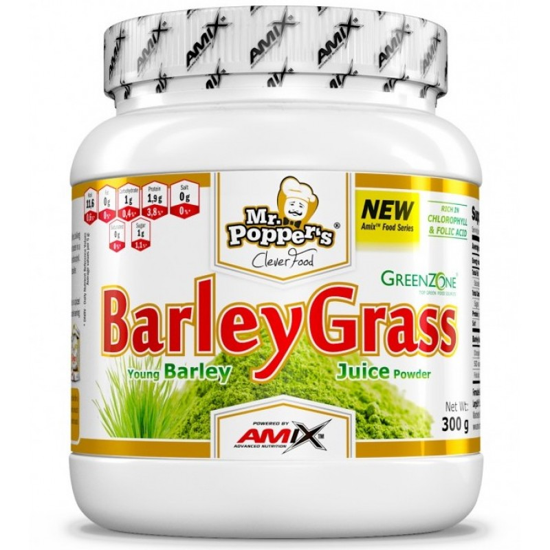 Amix Nutrition Mr.Popper's Barley Grass Juice Orgaaniline odraorase pulber 300 g