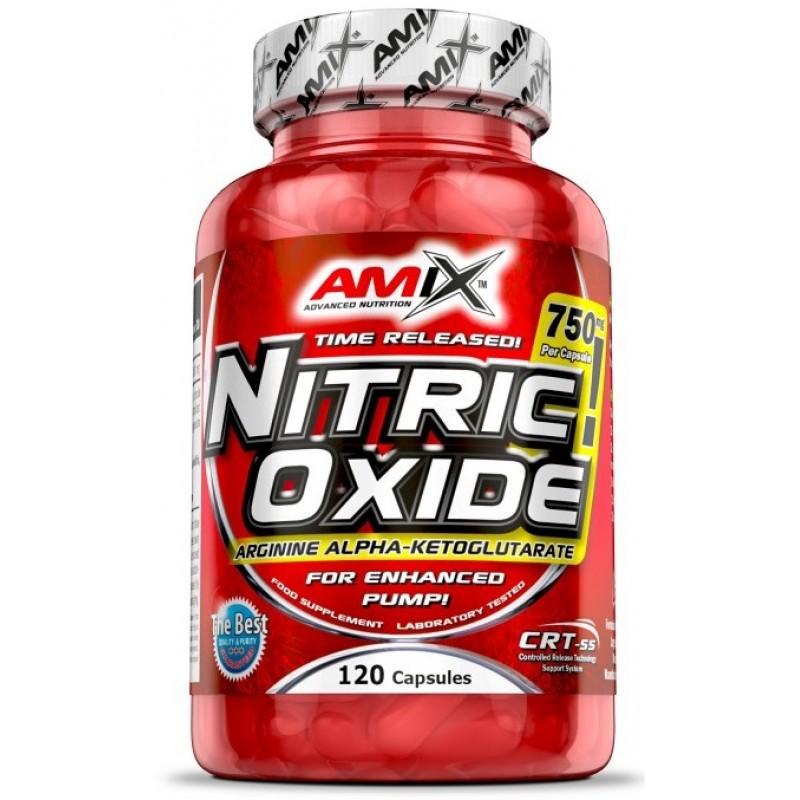 Amix Nutrition Nitric Oxide 750 mg 120 kapslit