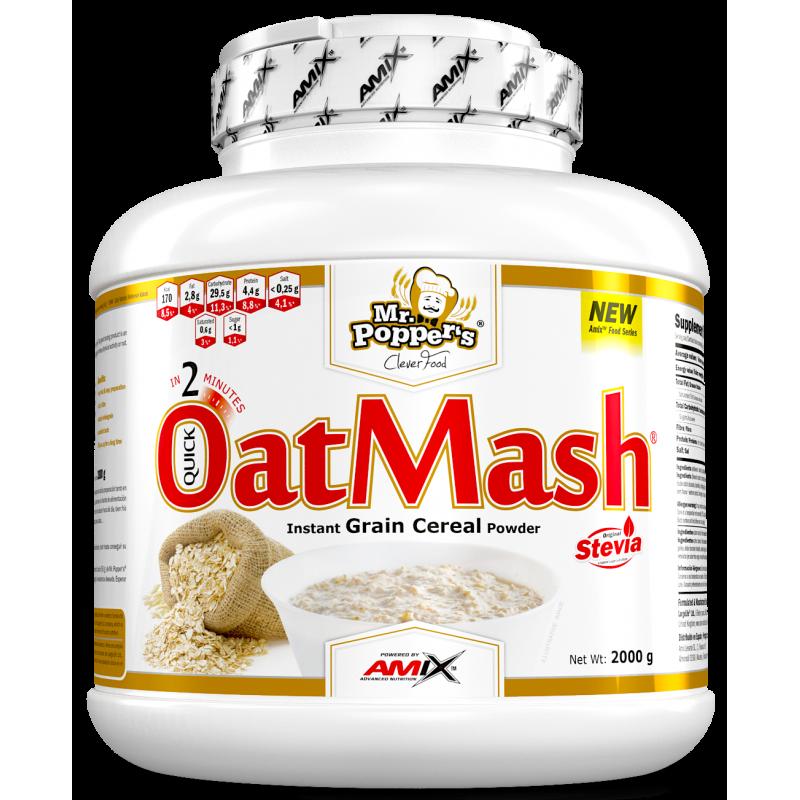Amix Nutrition Mr.Popper´s-OatMash® 2 kg kaerapuder