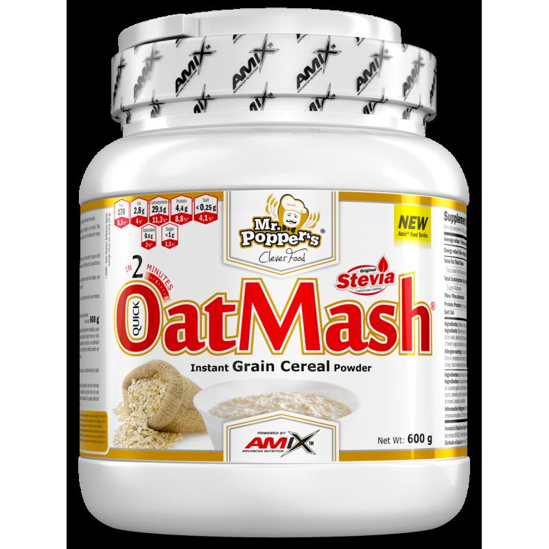 Amix Nutrition Mr.Popper´s-OatMash® 600 g kaerapuder