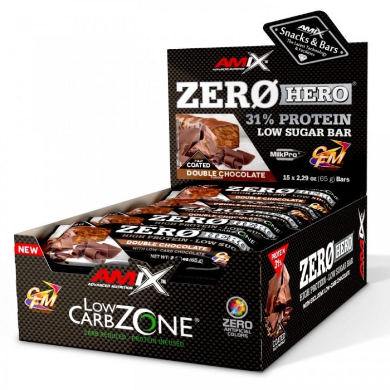 Amix Nutrition Low-Carb ZeroHero® Protein Bar 65 g foto