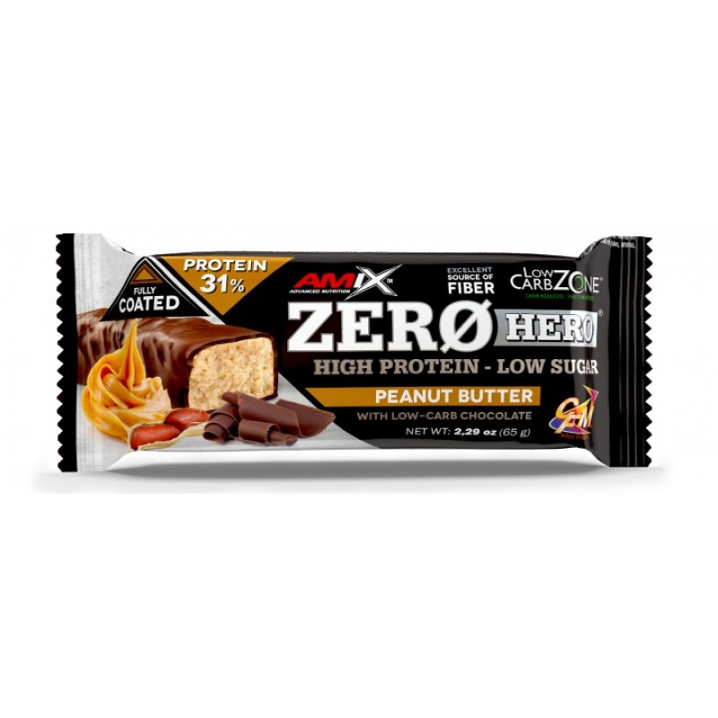 Amix Nutrition Low-Carb ZeroHero® Protein Bar 65 g