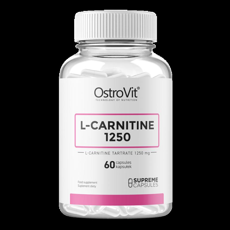 L-Carnitine 1250 60 caps