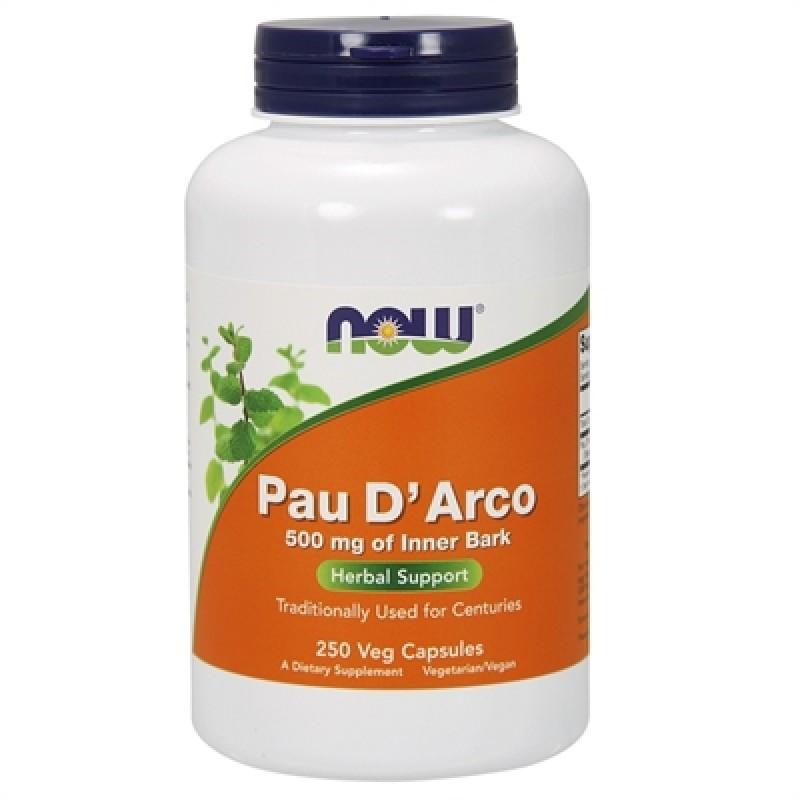 NOW Pau D´Arco 500 mg 250 kapslit
