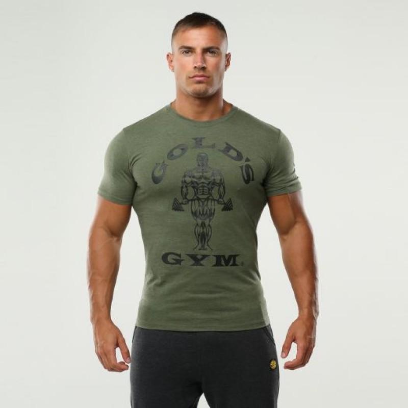 Golds Gym T-shirt Muscle Joe army green