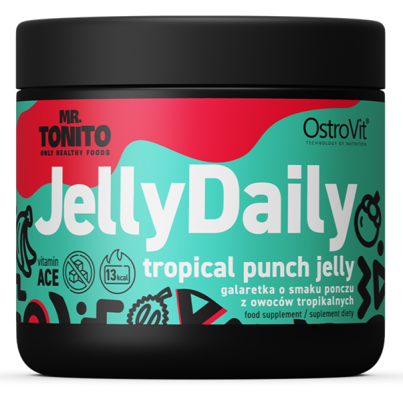 Mr. Tonito Jelly Daily 350 g Tropical Punch