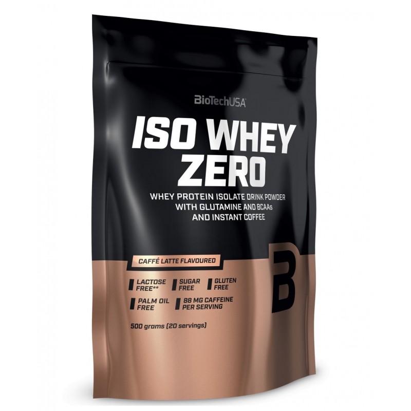 Biotech USA Iso Whey Zero 500g - Caffe Latte