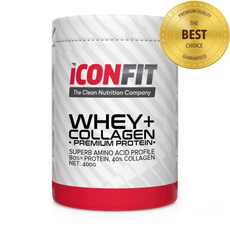 Iconfit Whey+ collagen 400 g