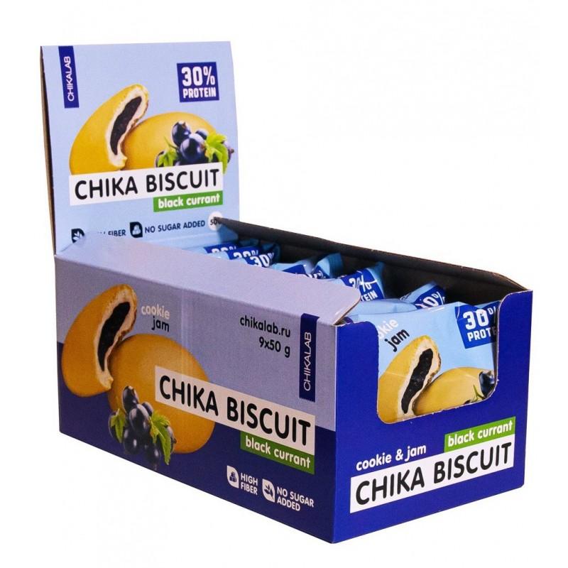 Bombbar Chika Biscuit mustsõstra moosiga 50g