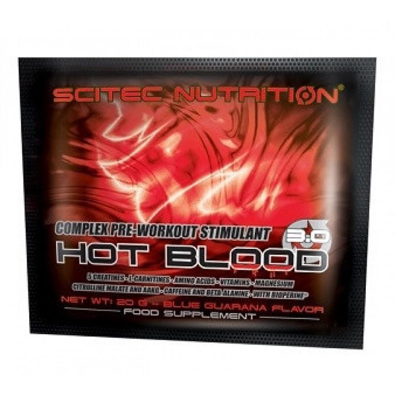 Scitec Nutrition HOT BLOOD 3.0, 20 g