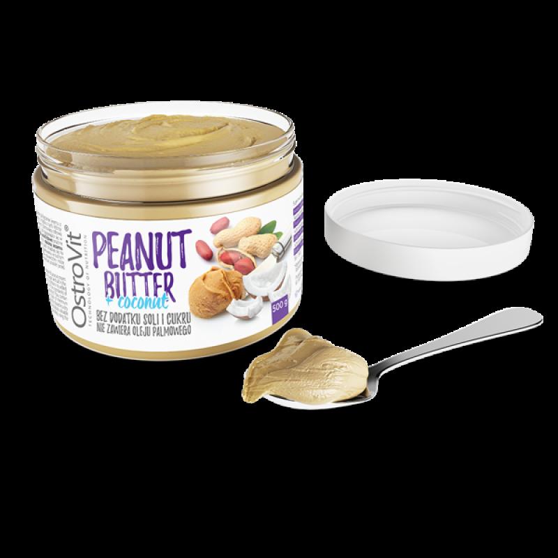 Peanut Butter + Coconut 500 g Maapähklivõi foto
