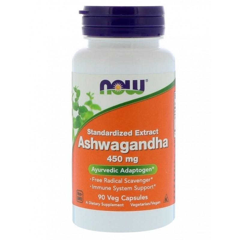 Ashwagandha Ekstrakt 450 mg 90 kapslit