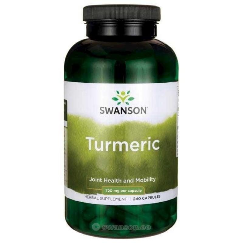Swanson Kurkum 720 mg 240 kapslit