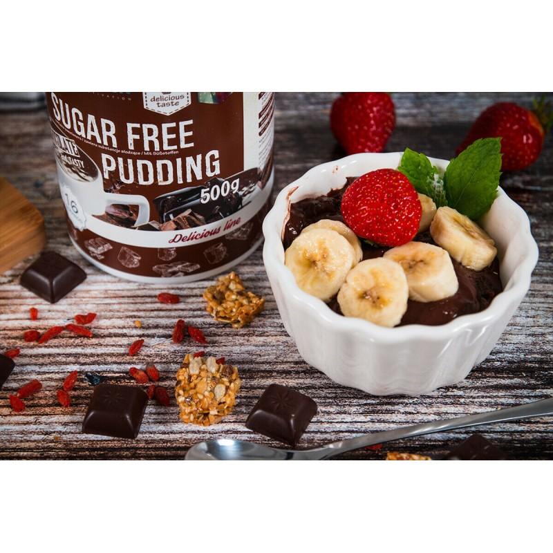 Sugar Free Pudding 500g chocolate Proteiinipuding foto