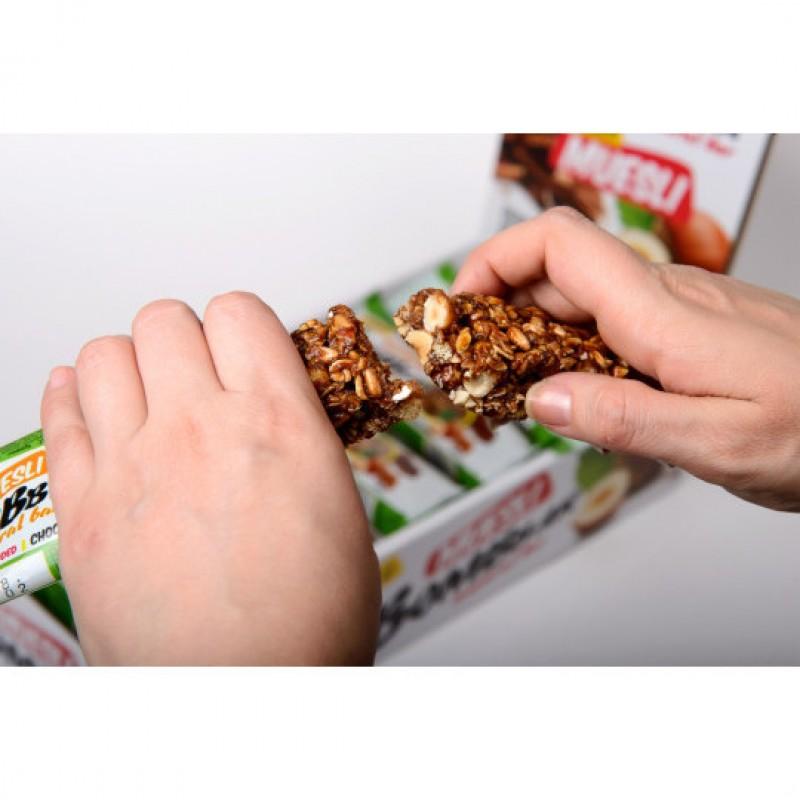 Bombbar Müsli, šokolaad-metspähkel 45g foto