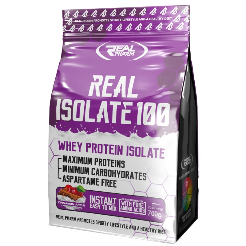Real Isolate 700g Vadakuvalgu isolaat foto