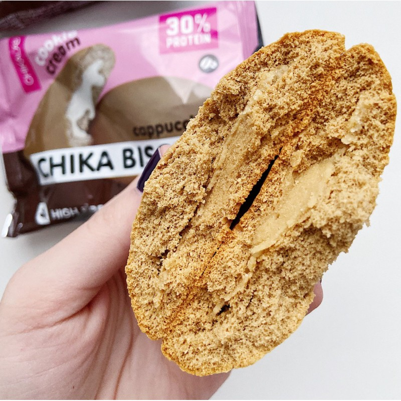 Chika Biscuit cappuccino 50g Proteiiniküpsised foto