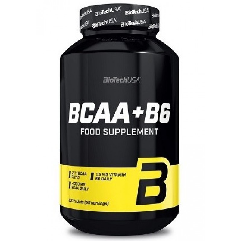 Biotech USA BCAA+B6 200tabs