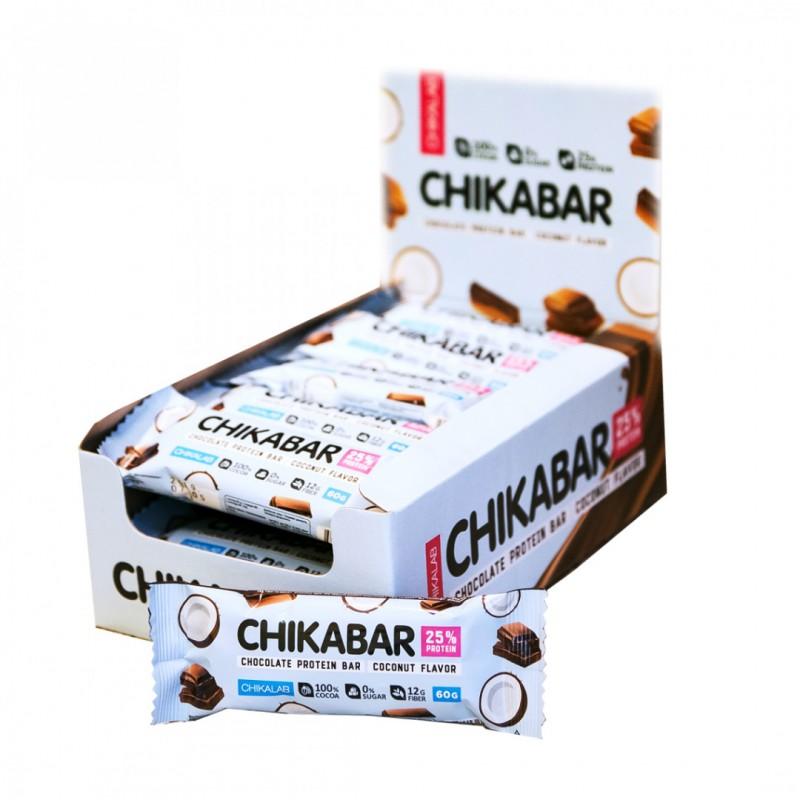 Bombbar Chikabar 60g kookose maitsega