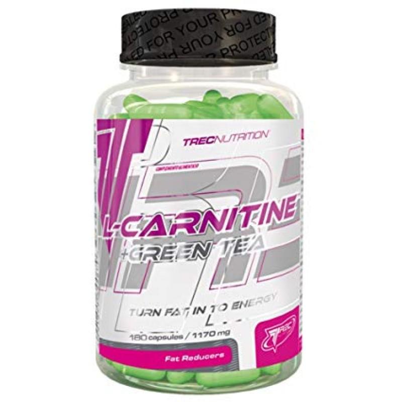 Trec Nutrition L-carnitine + Green Tea 180 caps