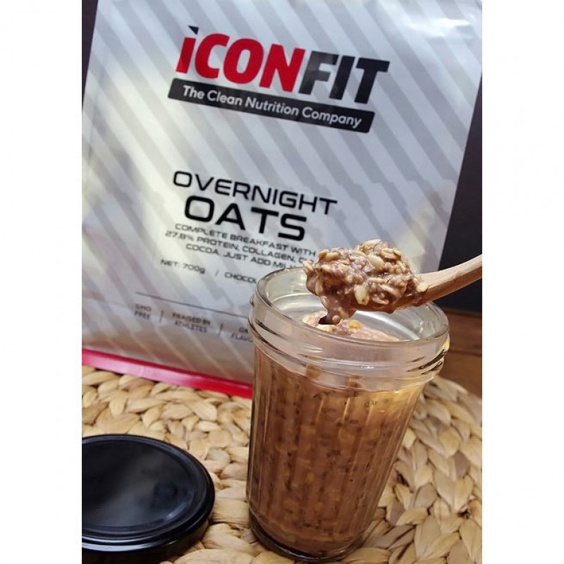 Iconfit Overnight oats 700 g foto
