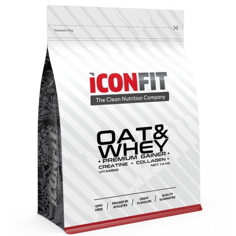 Iconfit Oat&whey pro gainer 1,4kg