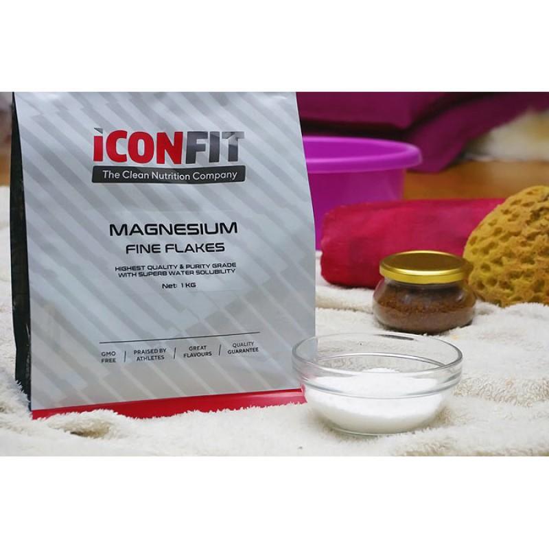 Iconfit Magneesiumihelbed 1 kg vannideks foto