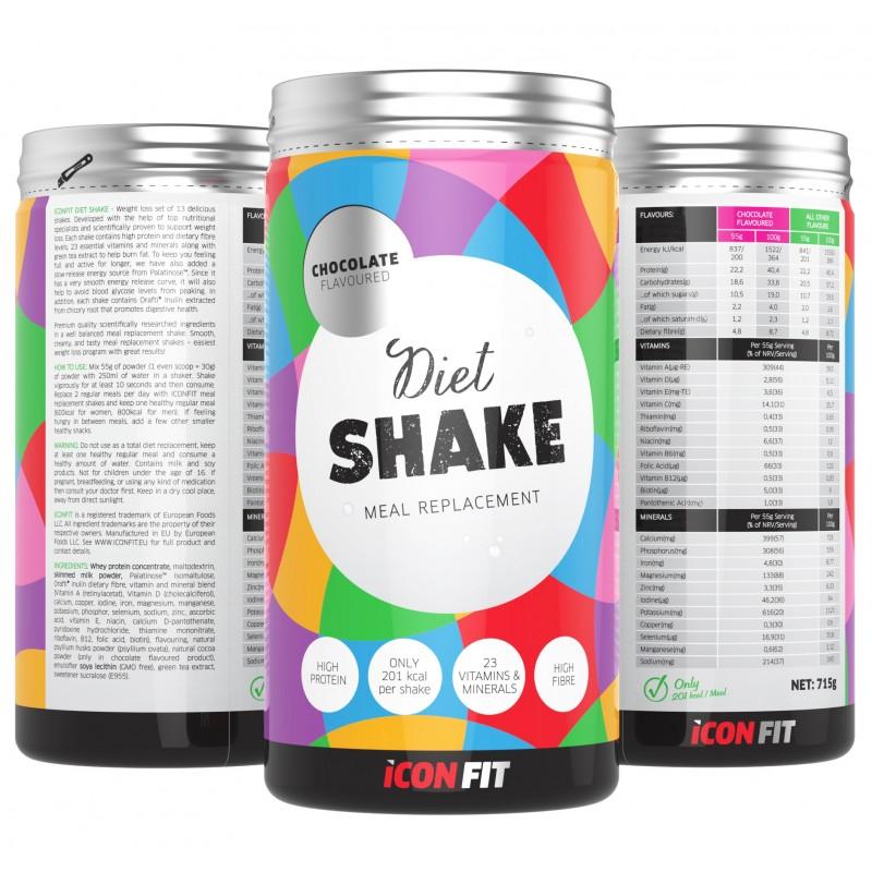 Iconfit Diet Shake (dieetkokteil) 1kg