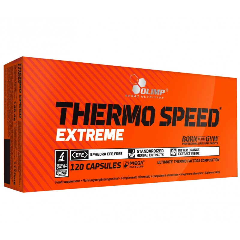 Thermo Speed Extreme 120 mega caps