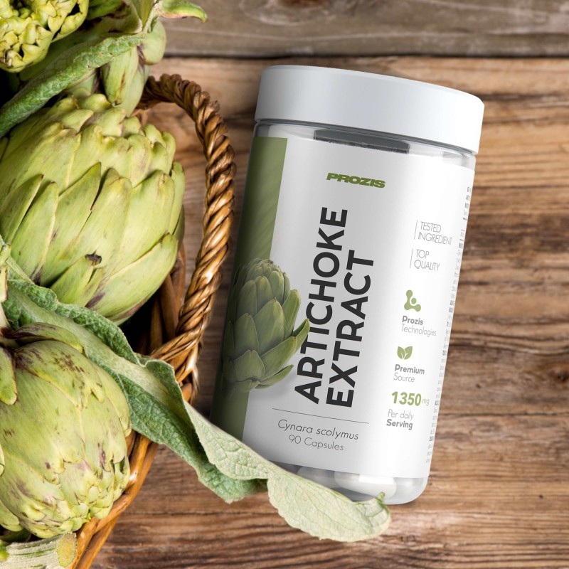 Artichoke Extract 1350 mg 90 caps Artišokk foto